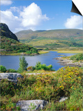 Ring of Kerry Between Upper Lake and Muckross Lake  Munster  Republic of Ireland (Eire)