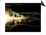 Burst of Energy Forms into Powerful Beam of Light