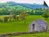 River Manifold Valley Near Ilam  Peak District National Park  Derbyshire  England