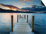 Ashness Jetty  Barrow Bay  Derwent Water  Keswick  Lake District Nat'l Park  Cumbria  England