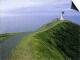 Lighthouse  Cape Reinga  Northland  North Island  New Zealand  Pacific