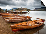 Keswick Launch Boats  Derwent Water  Lake District National Park  Cumbria  England