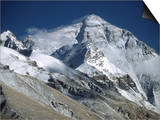 Mount Everest from the North Side  Tibet