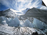 Seracsin Front of Mount Everest
