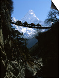 Bridge in Ama Dablam  Nepal