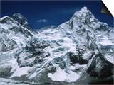 Mount Everest and Ama Dablam  Nepal