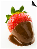 A Chocolate-Dipped Strawberry