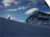 Mountaineering on Mt Aspiring  New Zealand