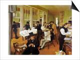 Degas: Cotton Office  1873