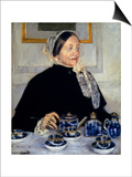Cassatt: Lady At Tea  1885