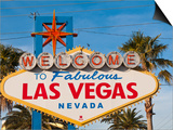 Welcome to Las Vegas Sign  Las Vegas  Nevada  United States of America  North America