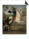 St George Fighting the Dragon