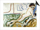 Kirchner: Lovers  1906