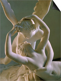 Psyche Brought to Life by Eros' Kiss  1793