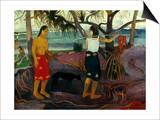 Gauguin: Pandanus  1891