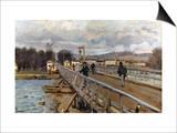 Sisley: Foot-Bridge  1872