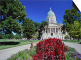 State Capitol  Kansas  USA