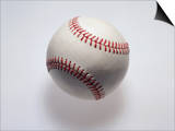 Baseball on a White Background