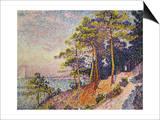 Saint -Tropez  le Sentier de Douane  1905
