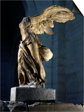 The Winged Victory or Nike of Samothrace  Marble  c 190 BC