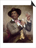 The Bone Player  1856