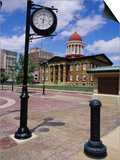 Old State Capitol Plaza  Springfield  Illinois  USA