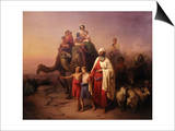 The Departure of Abraham  1850