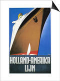 Dutch Travel Poster  1932