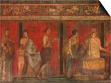 Villa of the Mysteries Pompeii Italy