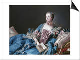 Madame de Pompadour  1721-64  Mistress of Louis XV