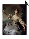 Portrait of Marquise D'Antin