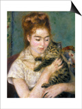 Renoir: Woman With A Cat