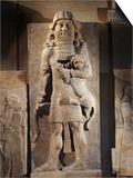Gilgamesh  or the Lion Spirit  Stone relief  Assyrian  8th century BC