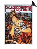 Mucha: Bicycle Ad  1897