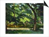 Cezanne: Etang  1877