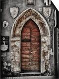 Ancient Door in L'Aquila
