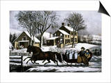 Currier & Ives: Winter Morning