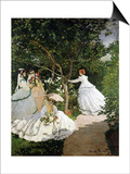 Femmes au jardin (Women in the Garden)  1866-67