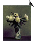 Fantin-Latour: Peonies  1872