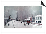 Utrillo: Eiffel Tower
