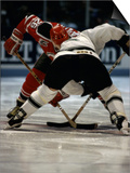 Hockey Players in Head to Head Competition