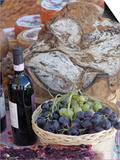 Grapes  Bread  Wine  Cheese Exhibit  La Festa Dell'Uva  Impruneta  Italy  Tuscany
