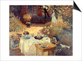 Monet: Luncheon  C1873