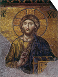 Head of Christ  Mosaic from Apse at Haghia Sophia Istanbul  12th century AD