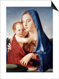 Antonello: Virgin & Child