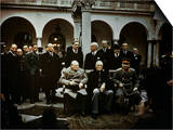 Big Three Conference  Yalta  February 1945  Photograph