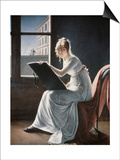 Young Woman Drawing  c1801