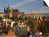 Prague Castle and Lesser Town Area  Prague  Czech Republic