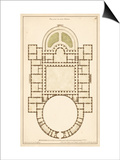 Antique Garden Plan IV