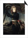 General Bonaparte (1769-1821) on the Bridge at Arcole  17th November 1796
